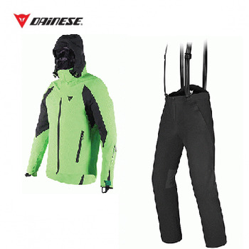 ROCA JACK Jacket TEAM/GREEN + EXCHANGE Pants BLACK/BLACK [16/17]