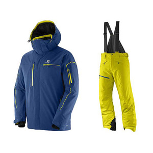 BRILLANT JK (MIDNIGHT BLUE) + CHILL OUT BIB PT (LIGHT ALPHA YELLOW) [15/16]