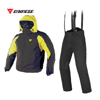 ROCA JACK Jacket BK/TBT YELLOW + EXCHANGE Pants BLACK/BLACK [16/17]