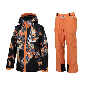 PRINT SHELL JK ONJ98101 009(SG BLACK) + OUTER PT ONP98155 145(ORANGE) [15/16]